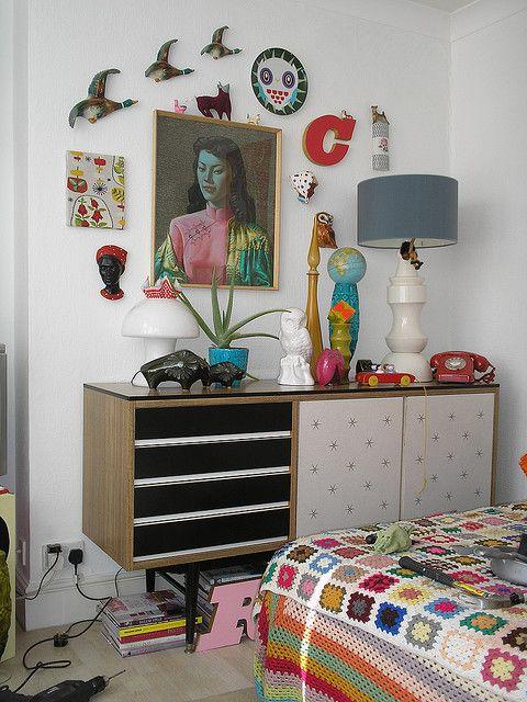 50`s sideboard Retro home decor, Retro bedrooms, Retro home