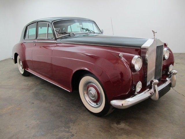 1960 Rolls Royce Silver Cloud Ii Left Hand Drive In 2 Tone Maroon