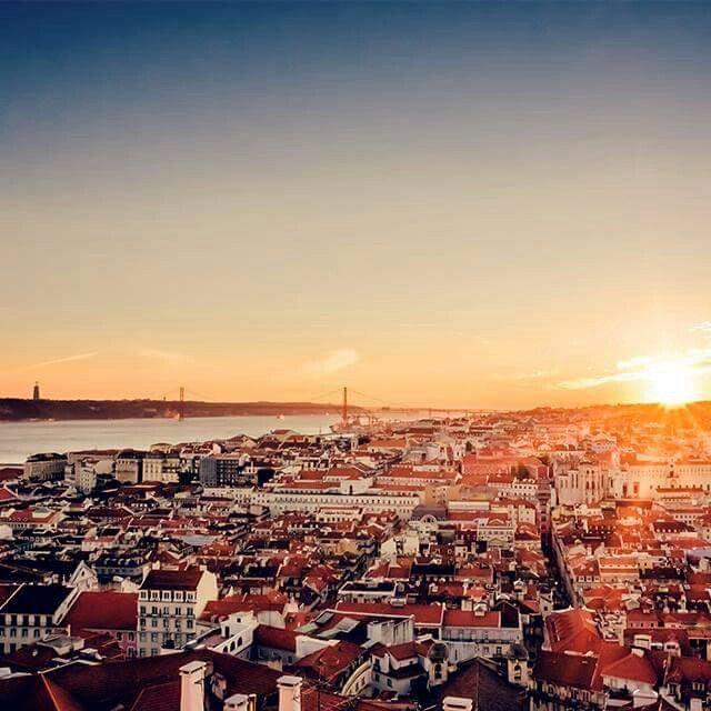 #Lisboa #sunset