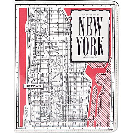 KATE SPADE - New York Map iPad case | selfridges.com