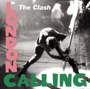 The Clash - London Calling (1979) Front cover features a photograph of guitarist Paul Simonon smashing his Fender Precision Bass against the stage at The Palladium in New York City on 9/21/1979.  However, Pennie Smith, who photographed the band for the album, originally did not want the photograph to be used. She thought that it was too out of focus, but Strummer and graphic designer Ray Lowry thought it would make a good album cover.  They were right!