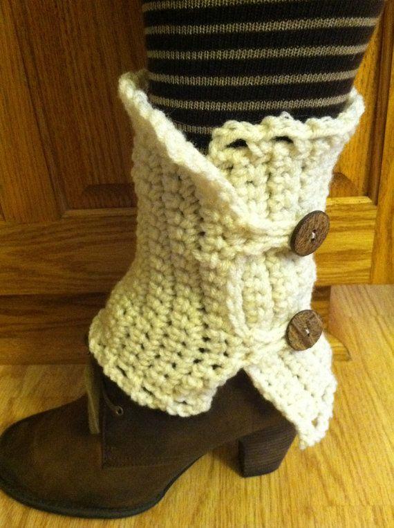 Boot Cuff by crochetthisforme on Etsy | crochet | Pinterest | Dinge ...