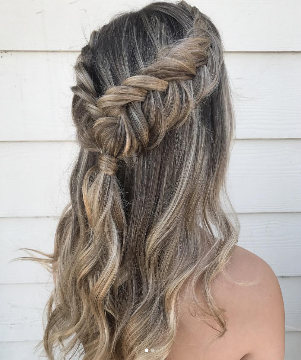 Big beautiful bridal braid hair ideas fishtail hairstyles