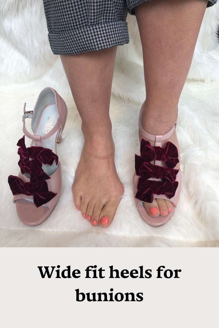 Pin auf Beautiful shoes for bunions