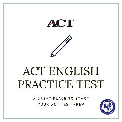 ACT Test English Practice, English ACT Test Preparation | ACT Test