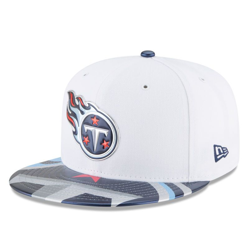 pretty nice bd4a8 0feb7 ... best tennessee titans new era youth 2017 nfl draft official on stage 59fifty  fitted hat white