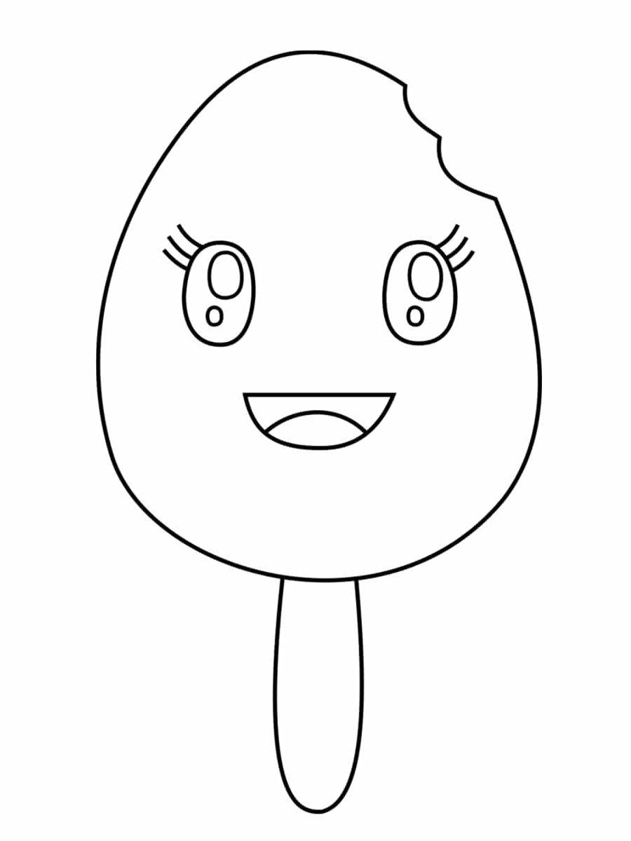 Coloriage Kawaii Nourriture Mario Characters
