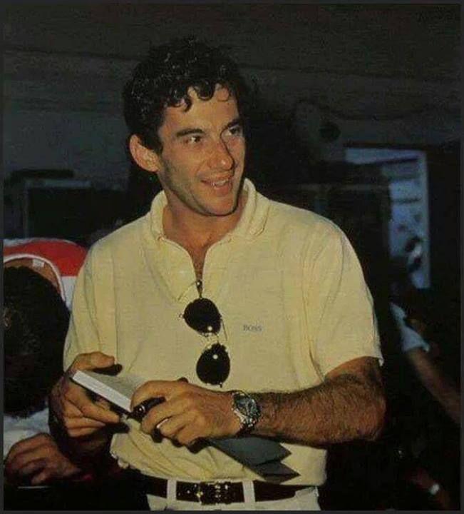Pin Em Ayrton Senna