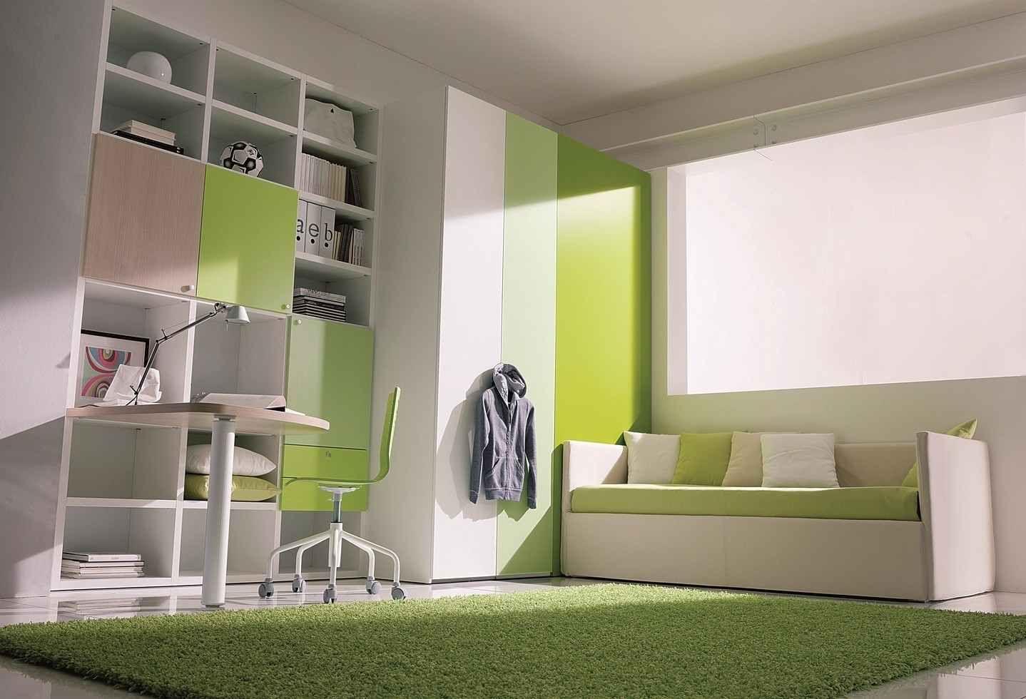 Deco Chambre Vert Anis. Dcoration Du0027une Chambre De Petite Fille ...