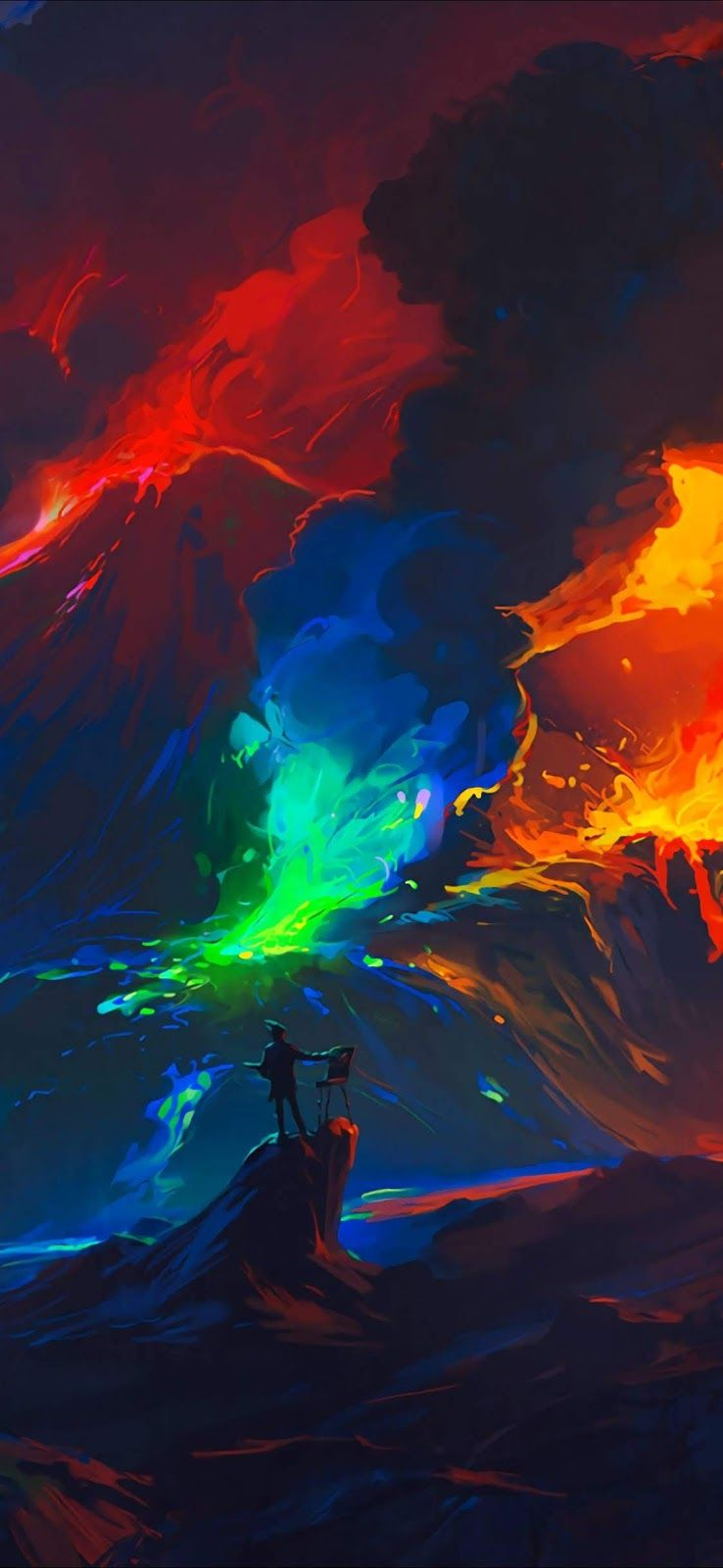 Colorful (iPhone X) Imagens aleatórias, Wallpaper hd