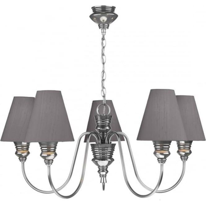 An elegant pewter chandelier style light that would make a great an elegant pewter chandelier style light that would make a great feature light in a traditional sitting room or dining room aloadofball Gallery