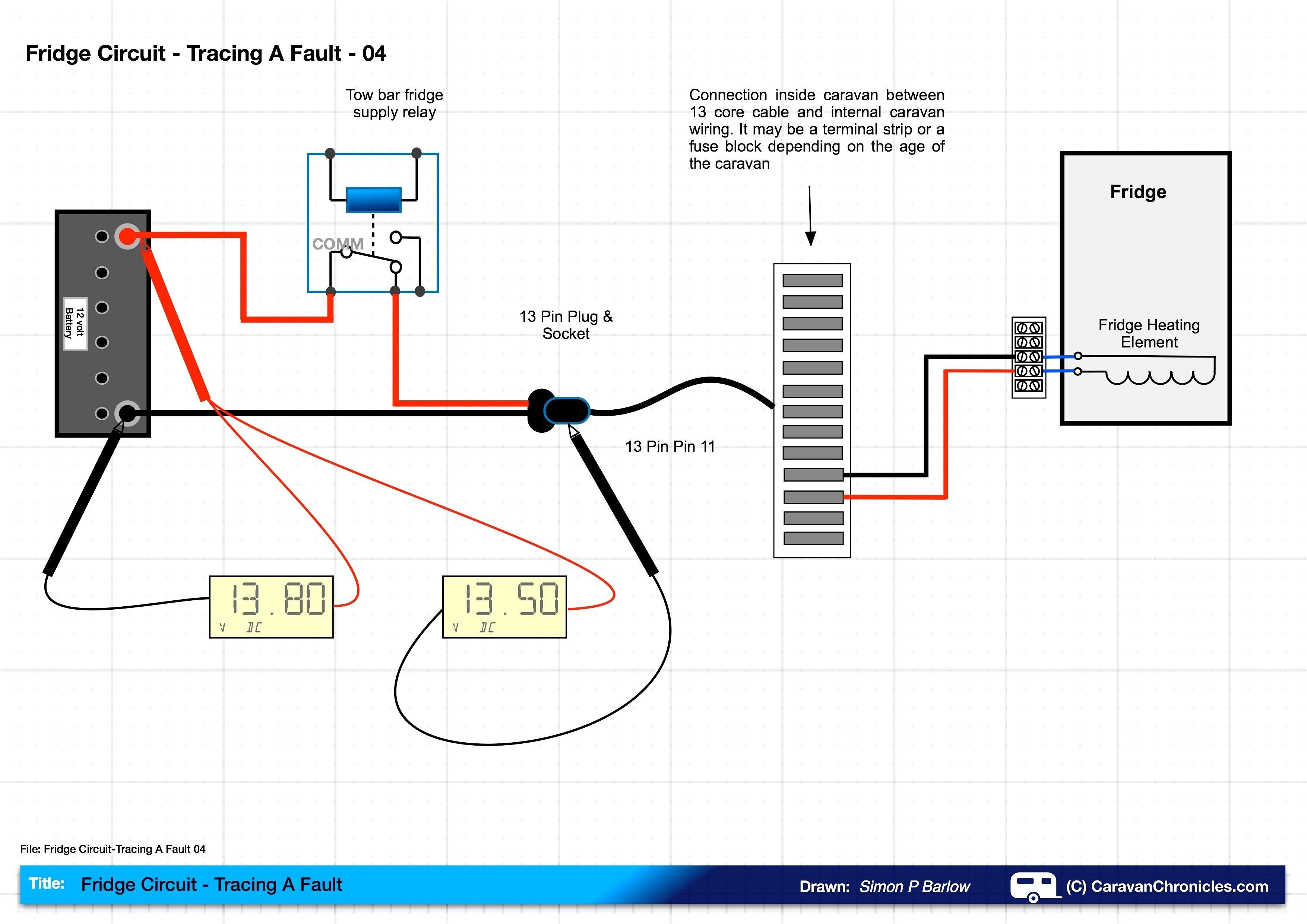 New Bailey Caravan Electrics Wiring Diagram  Diagram