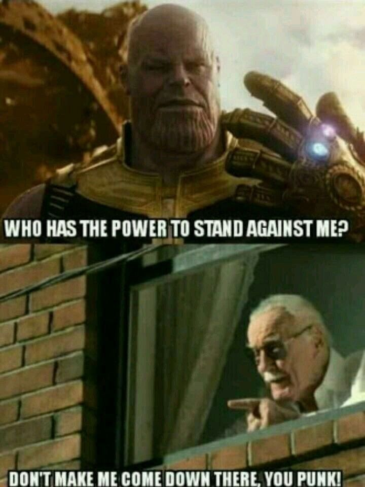 Best Funny Clean Just think... we are never going to be able to look fo Stan Lee in any of the fu... Just think... we are never going to be able to look fo Stan Lee in any of the fu...