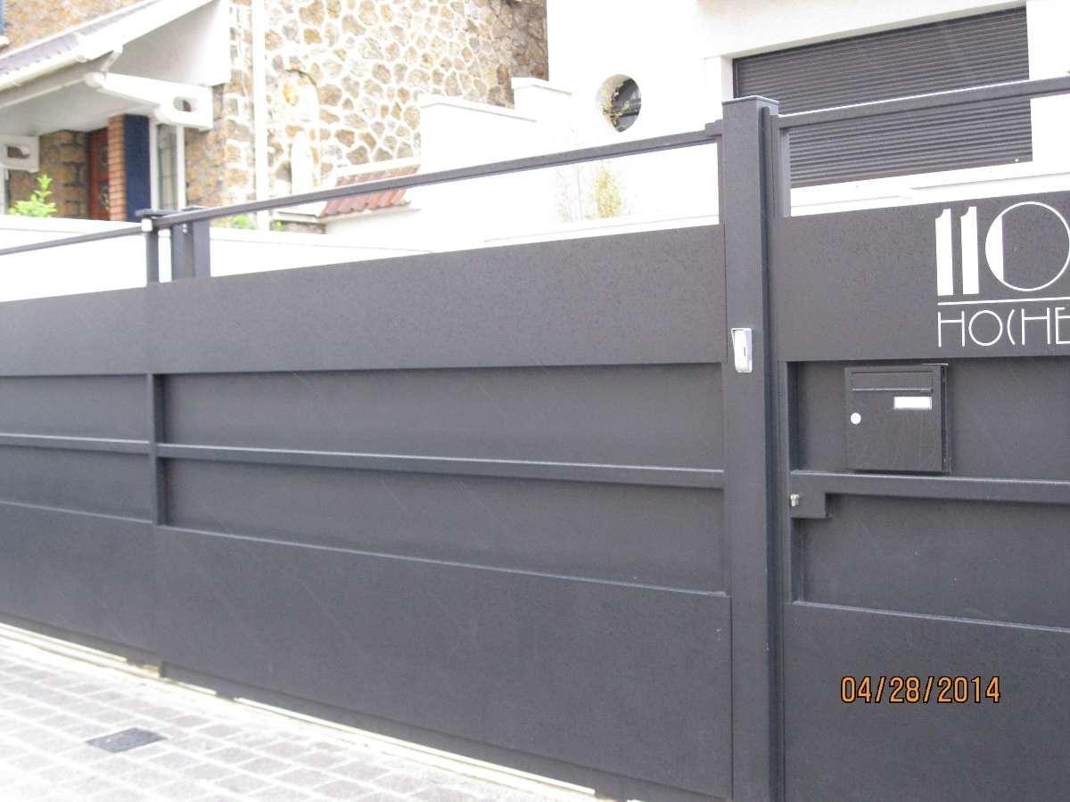 Portail Moderne Sur Mesure.