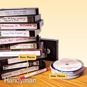 Cómo convertir cintas de vídeo a DVD