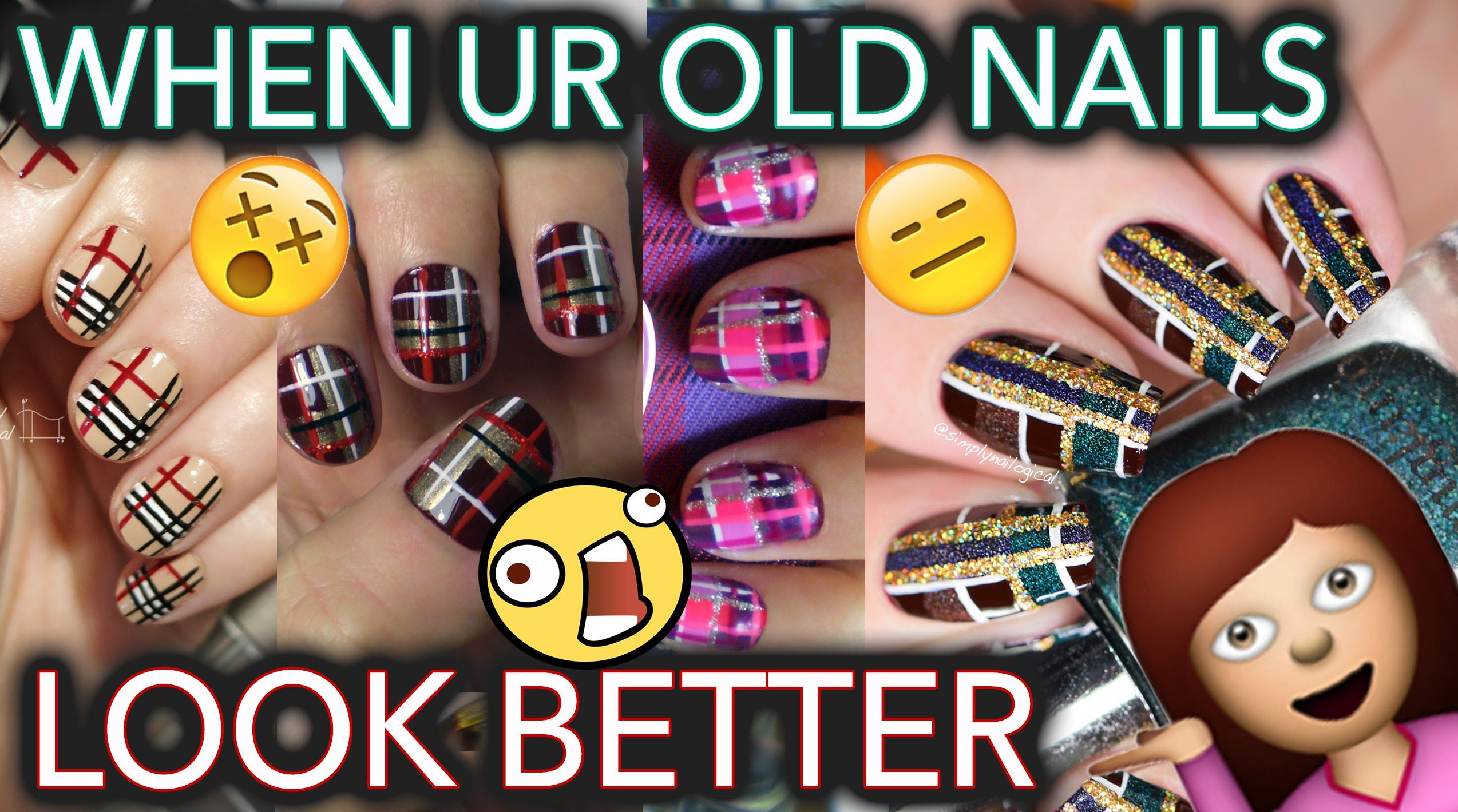 Fall nail art I don't even like cause I like my old stuff better