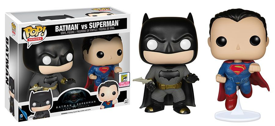 Batman V Superman Funko Pop Toys And Mattel Action Figures