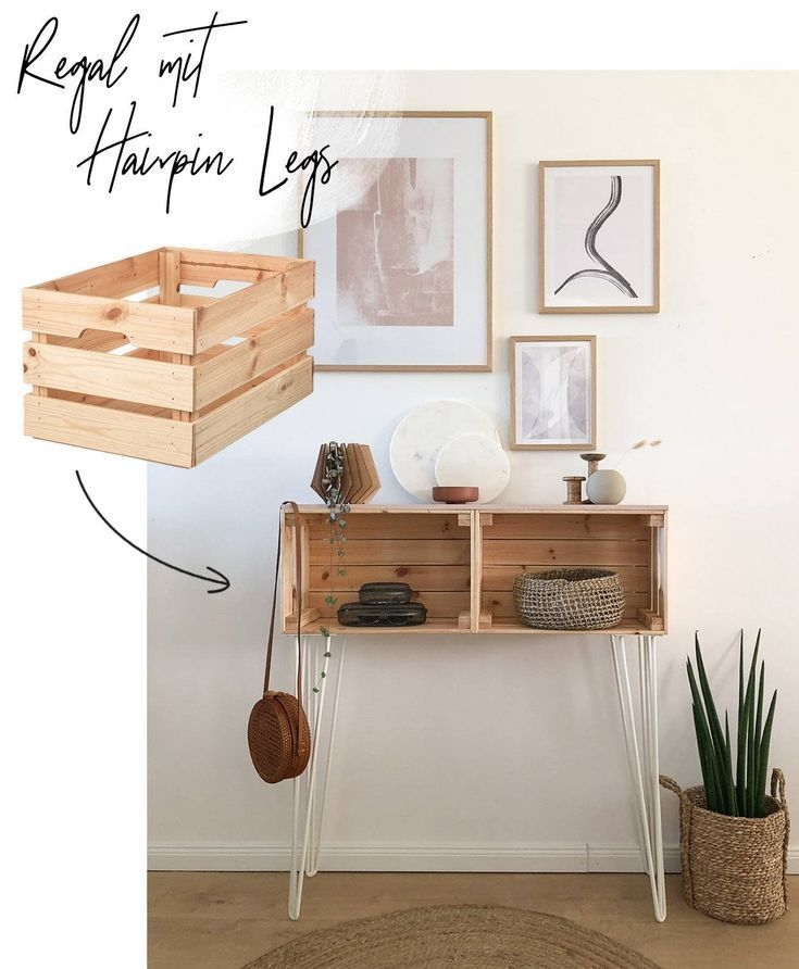 IKEA Hack – Regal mit Hairpin Legs selber bauen – WOHNKLAMOTTE