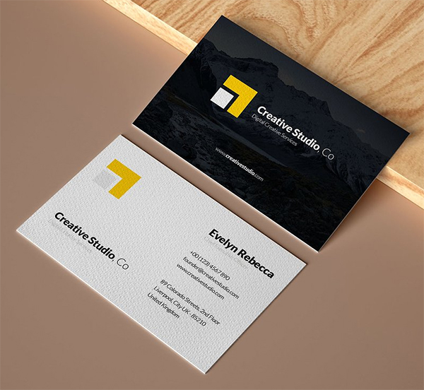 Elegant Business Card Template Business Cards Creative Templates Elegant Business Cards Professional Business Card Design