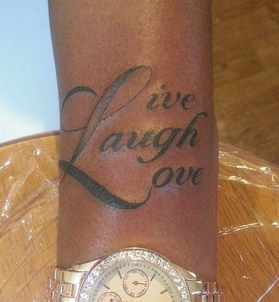 Tattoo Design On Dark Skin Tones