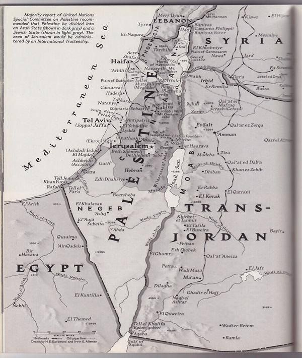 Historical Pics On Palestine And Israel - Map of palestine