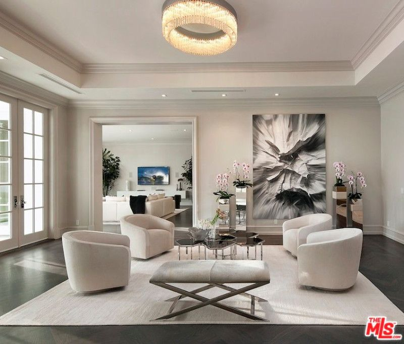 101 Gorgeous Celebrity Living Rooms Photos Ceiling Lights