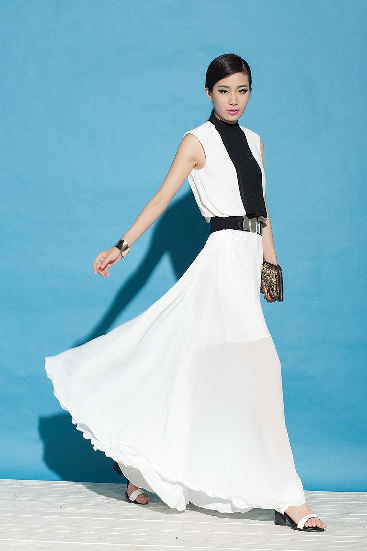 Springsummer new women clothing fashion slim sleeveless black