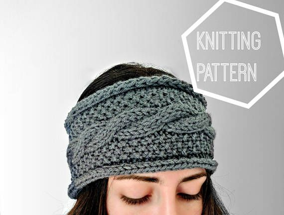 Seeds And Cables Knit Ear Warmer Pattern Cable Knit Ear Warmer