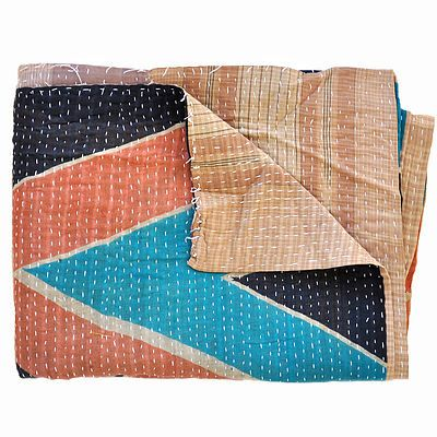 Available for puchase beautiful throws and other accessories made from stunning 100% Cotton upcycled Indian Sarees....