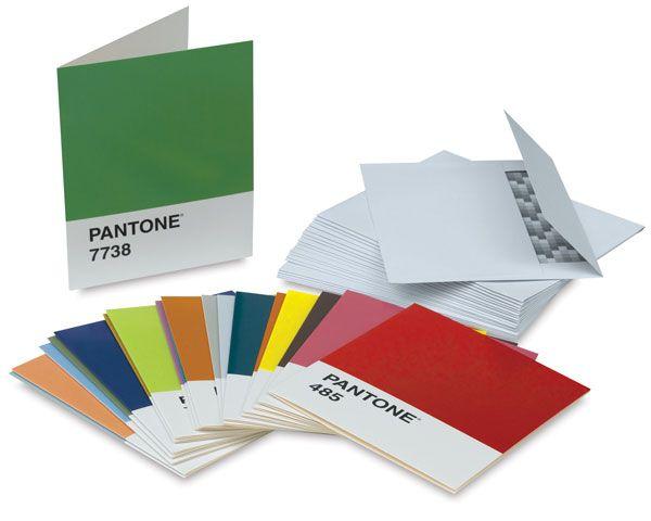 Pantone Notes - Assorted Notecards e Envelopes
