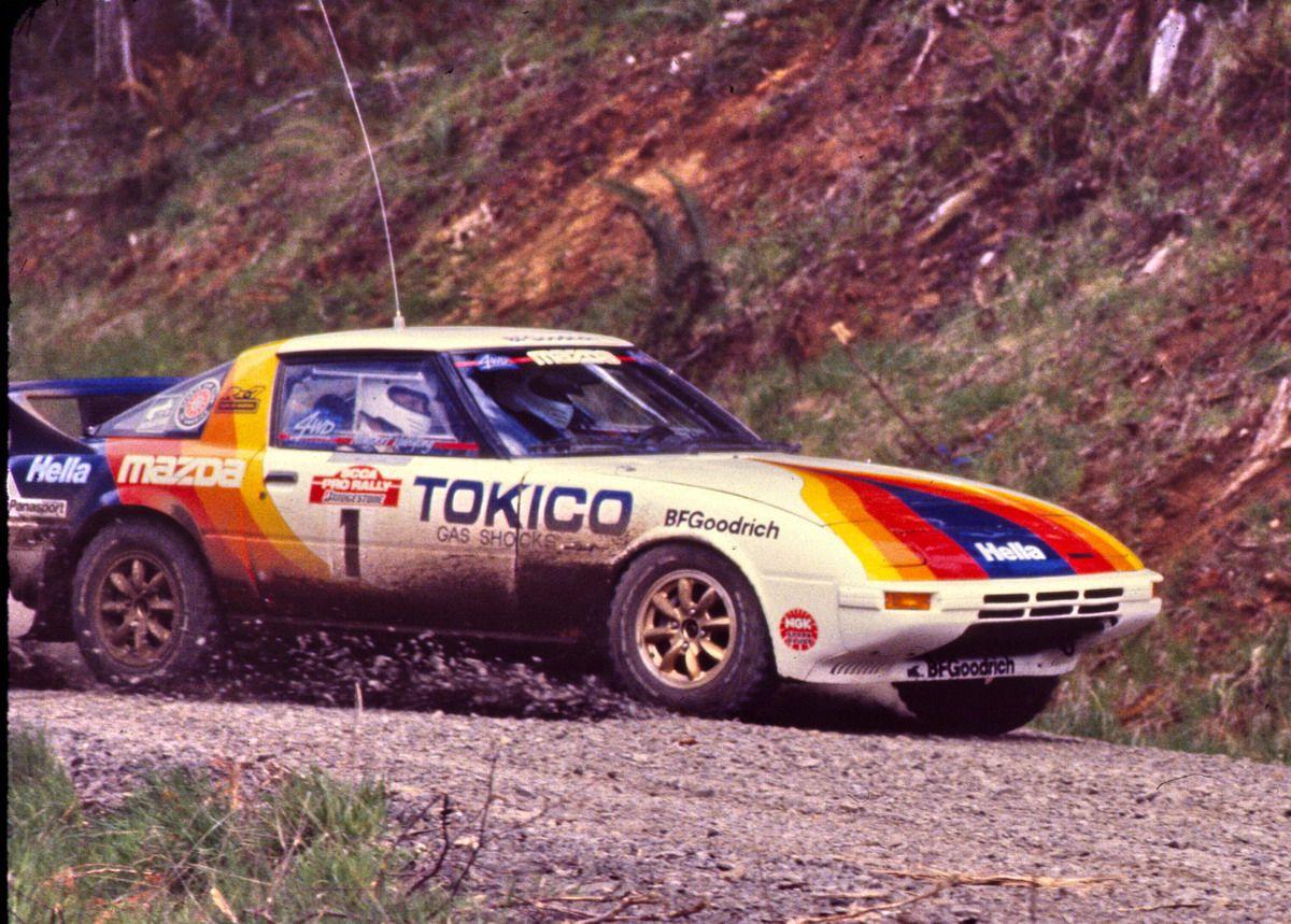 4WD RX-7 - Rod Millen and John Bellefleur | Mazda, Rally car, Car ...