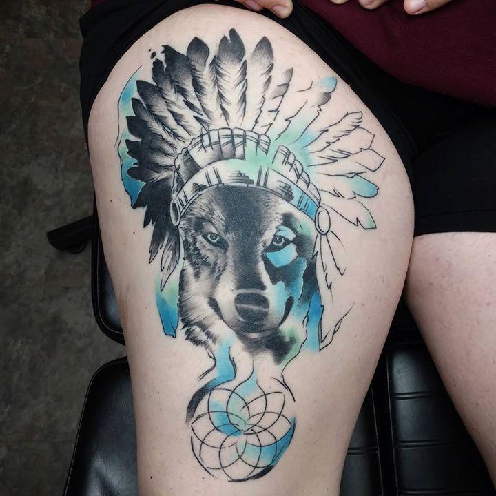 Healed tattoo by mj from warlocks tattoo inc 20170514