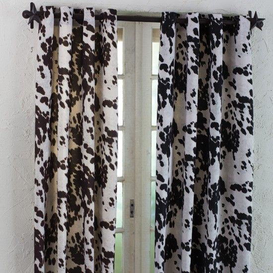 Cowhide Curtains 8OD