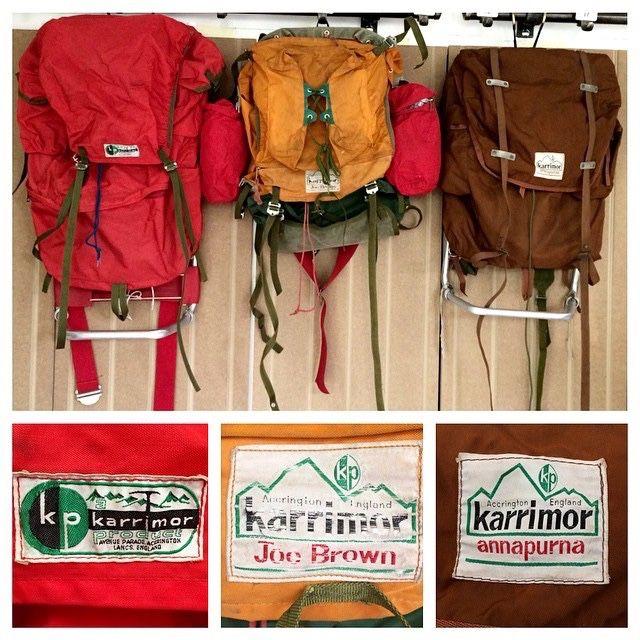 vintage Karrimor Rucksacks | Karrimor rucksack, Red rucksack, Rucksack