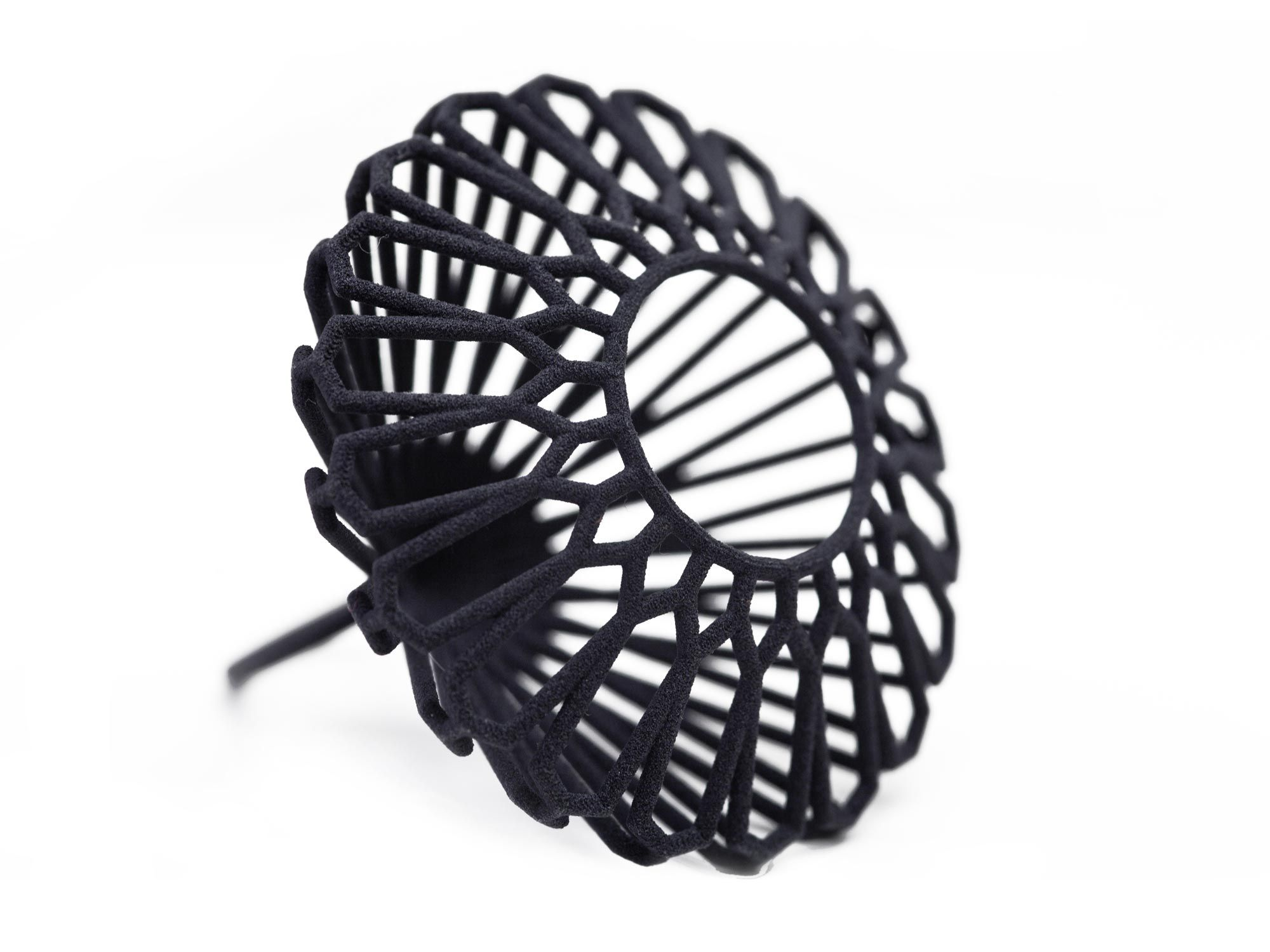 3D printed ring.  MYBF is designed by Orlando Fernandez for Maison 203