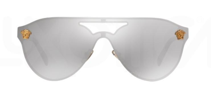 680db8f1c7c Versace VE 2161 Gold   Silver Mirror Sunglasses – shadesdaddy