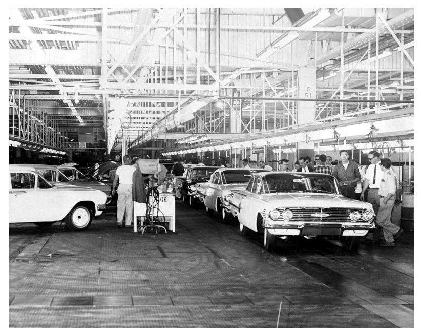 West Coast Chevies… Building Impalas in California 1960