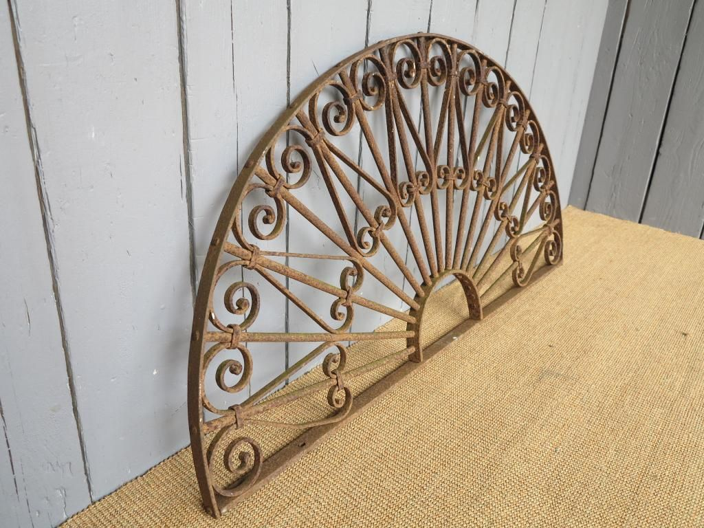Antique Decorative Wrought Iron Arch Architectural