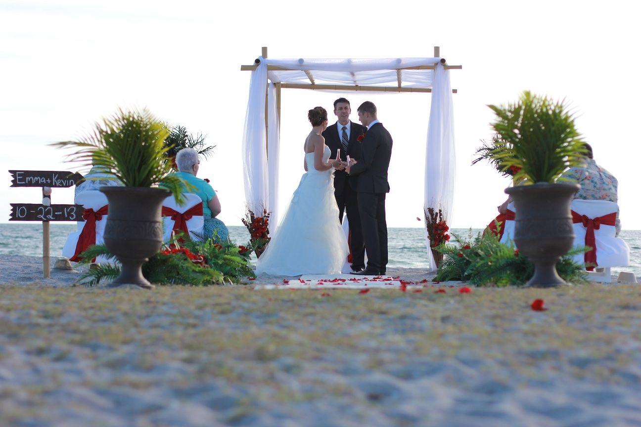 Venice Beach Florida By Sun Weddings