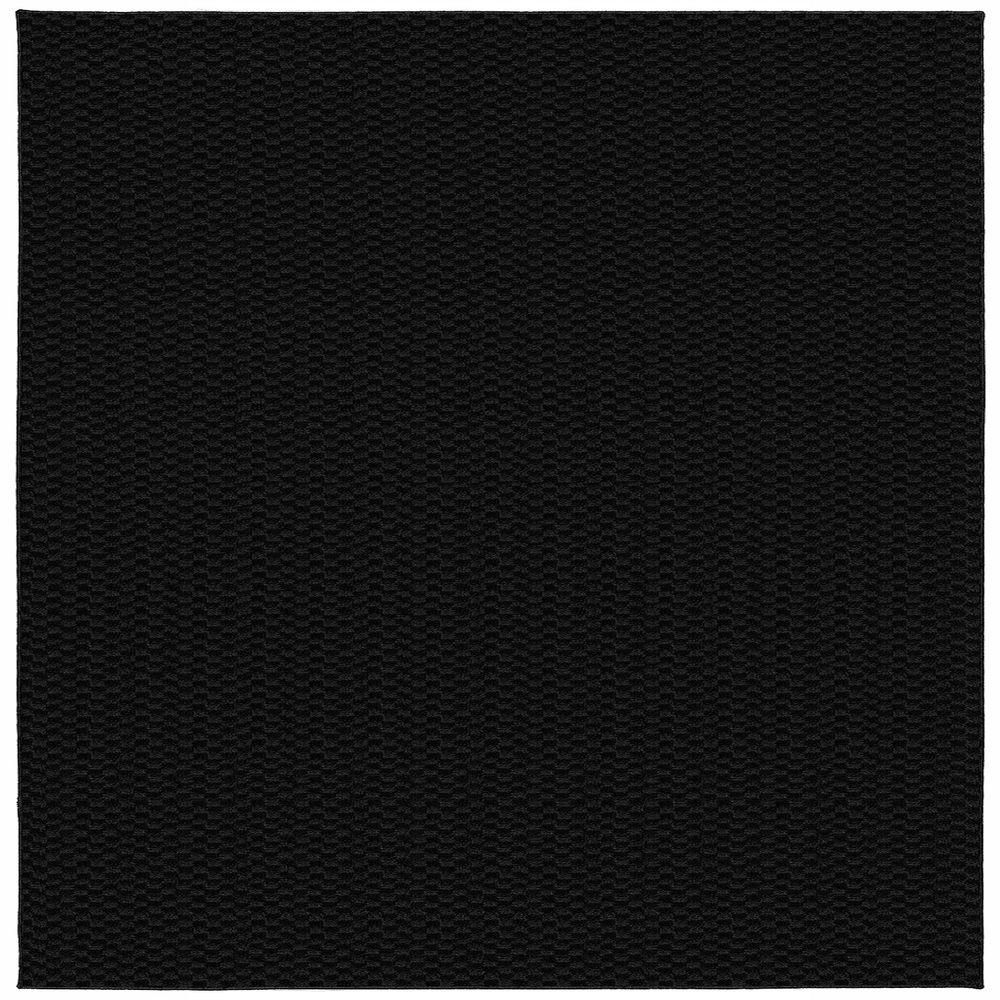 Medallion Black 12 Ft X 12 Ft Square Area Rug Squares And Products