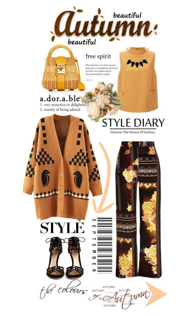 """""""My Style Diary Weekend: Sunday's Look"""" by terrelyn-thomas-no-tags ❤ liked on Polyvore featuring River Island, Gianvito Rossi, Mark Cross and George & Laurel"""