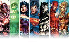 Wallpaper Justice League New 52 Buscar Con Google