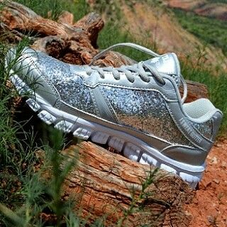 ✴SO GLAM SILVER TENNIS✴ SIZE AVAILABLE: 7-12 $69.99 SHOP US AT OUTLAW COWGIRL CREATIONS FACEBOOK PAGE
