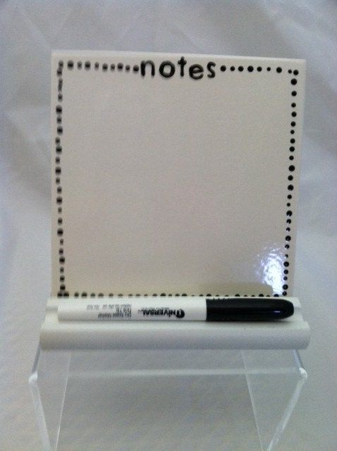 Ceramic Tile Dry Erase Message Board Notes By Shadylaneceramics 15 00