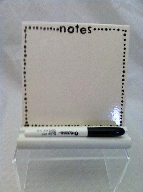 Ceramic Tile Dry Erase Message Board