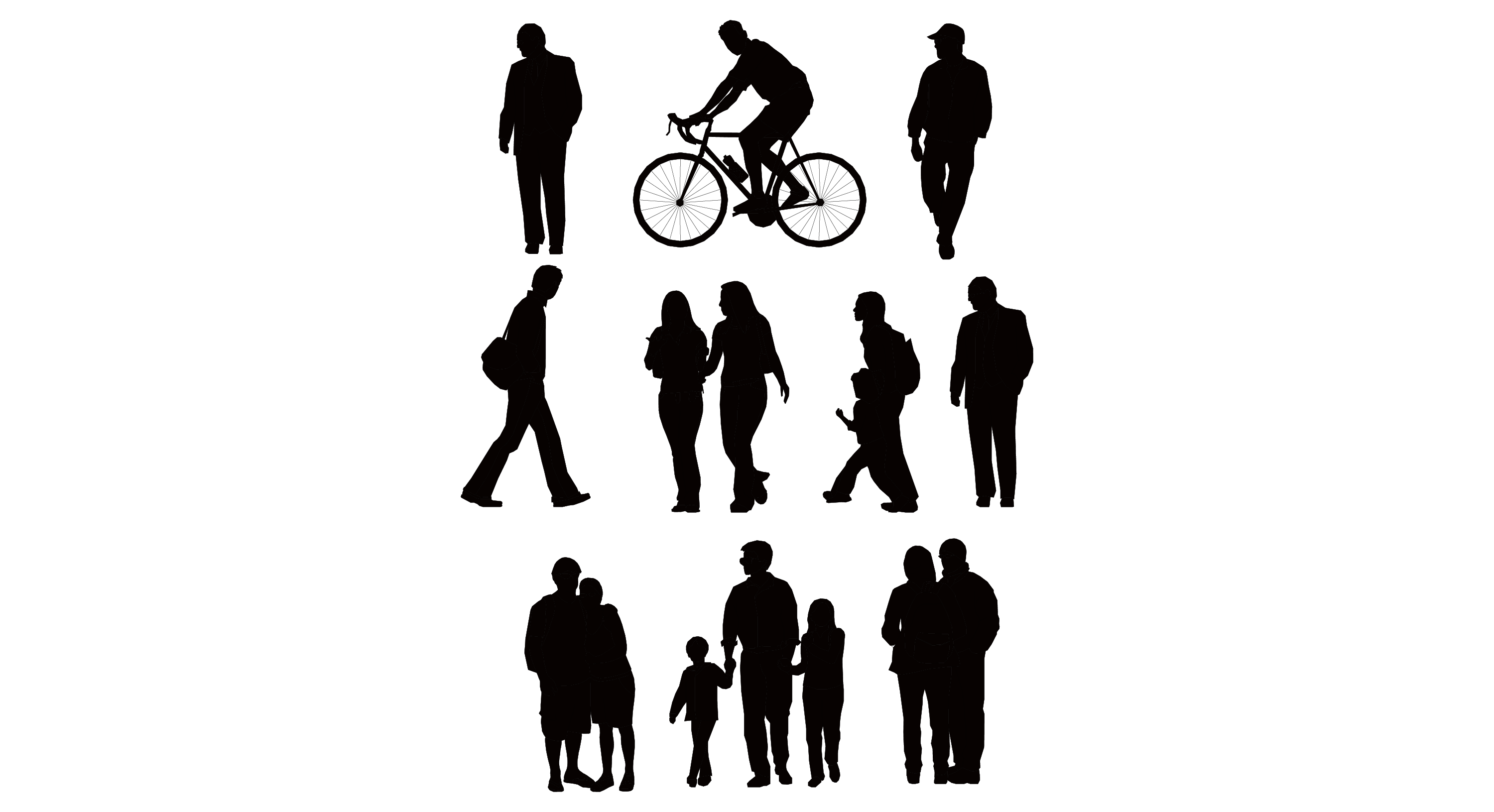 PEOPLE WALKING SYMBOL SILHOUETTE PNG - Google Search ... for Business People Silhouette Png  55dqh