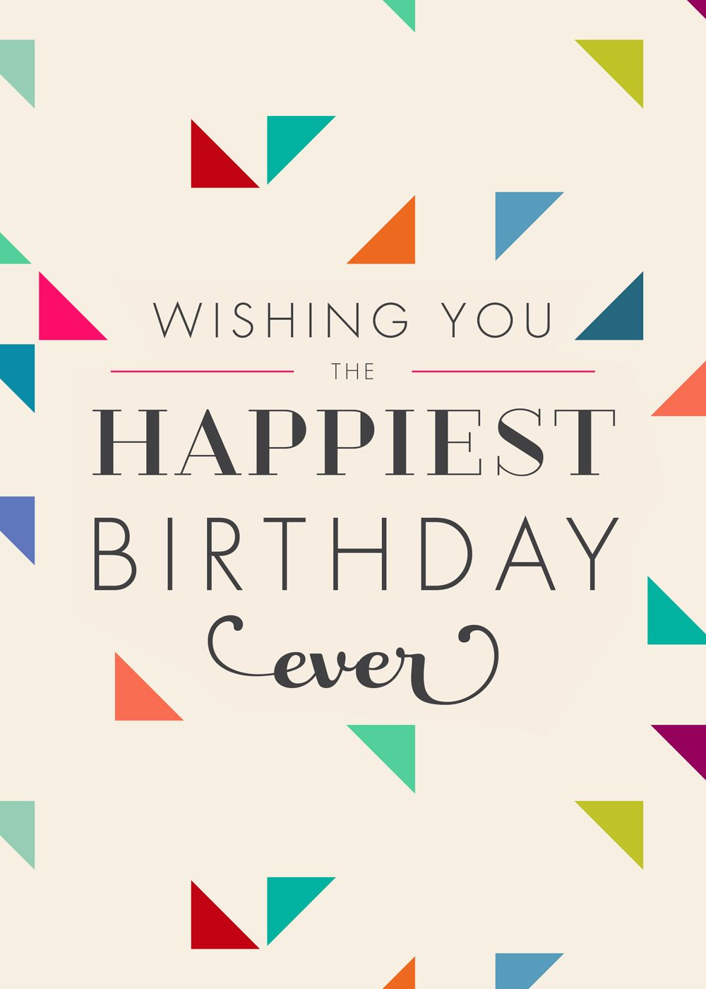 Fabulous Wishes Happy Birthday Card From My Life Greetings Happy