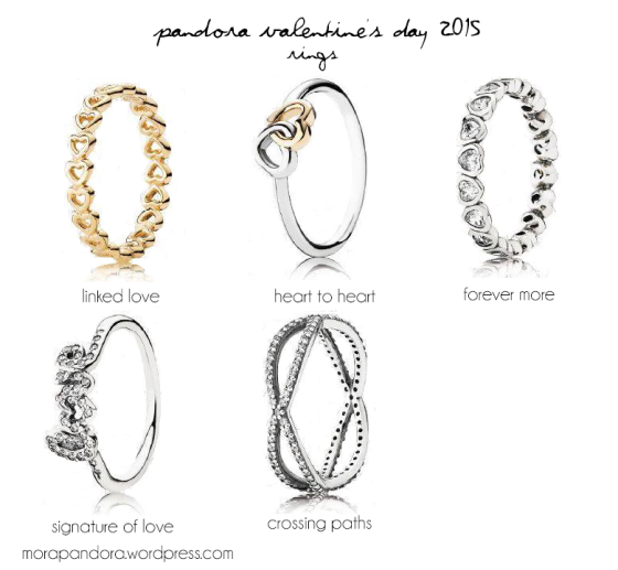 preview pandora valentines day 2015 collection - Pandora Valentines Day Ring