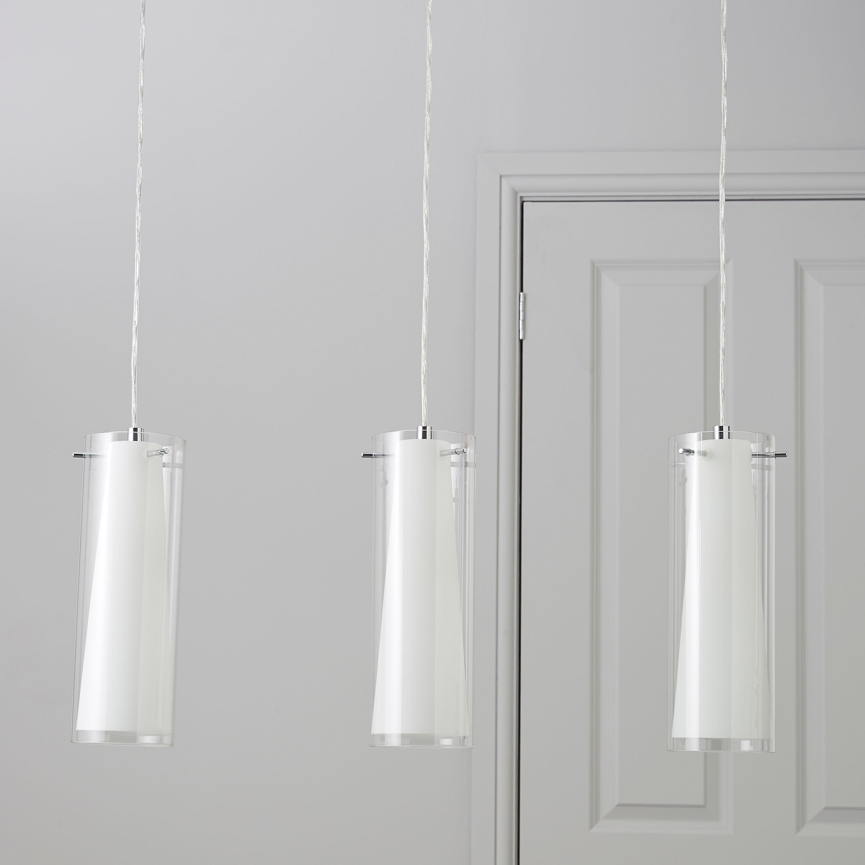 Kamara Tube White 3 Lamp Pendant Ceiling Light House Pinterest