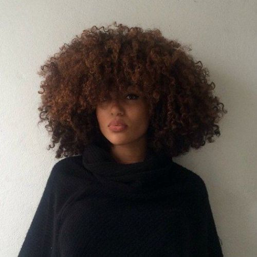 her fro is gorgeous!